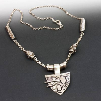 Silver Active Strength Necklace